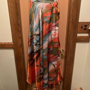 Stunning Wrap Maxi Skirt